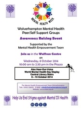 self support groups wmhd 2014
