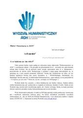 PDF Document czy jest co takiego jak wydzia humanistyczny na agh 1