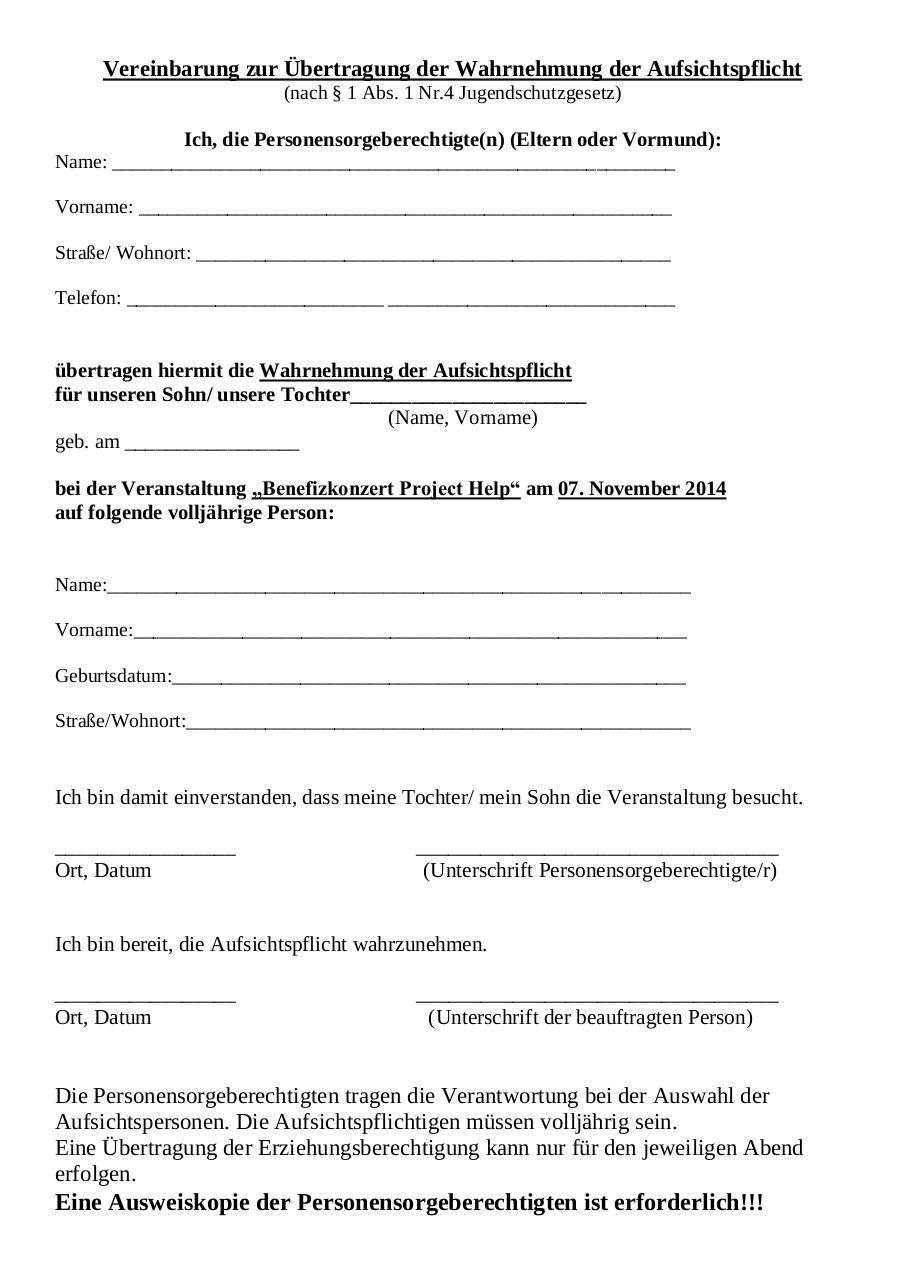 Document preview Aufsichtszettel Project Help (1).pdf - page 1/1