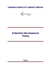 collectiondevelopmentpolicy2012