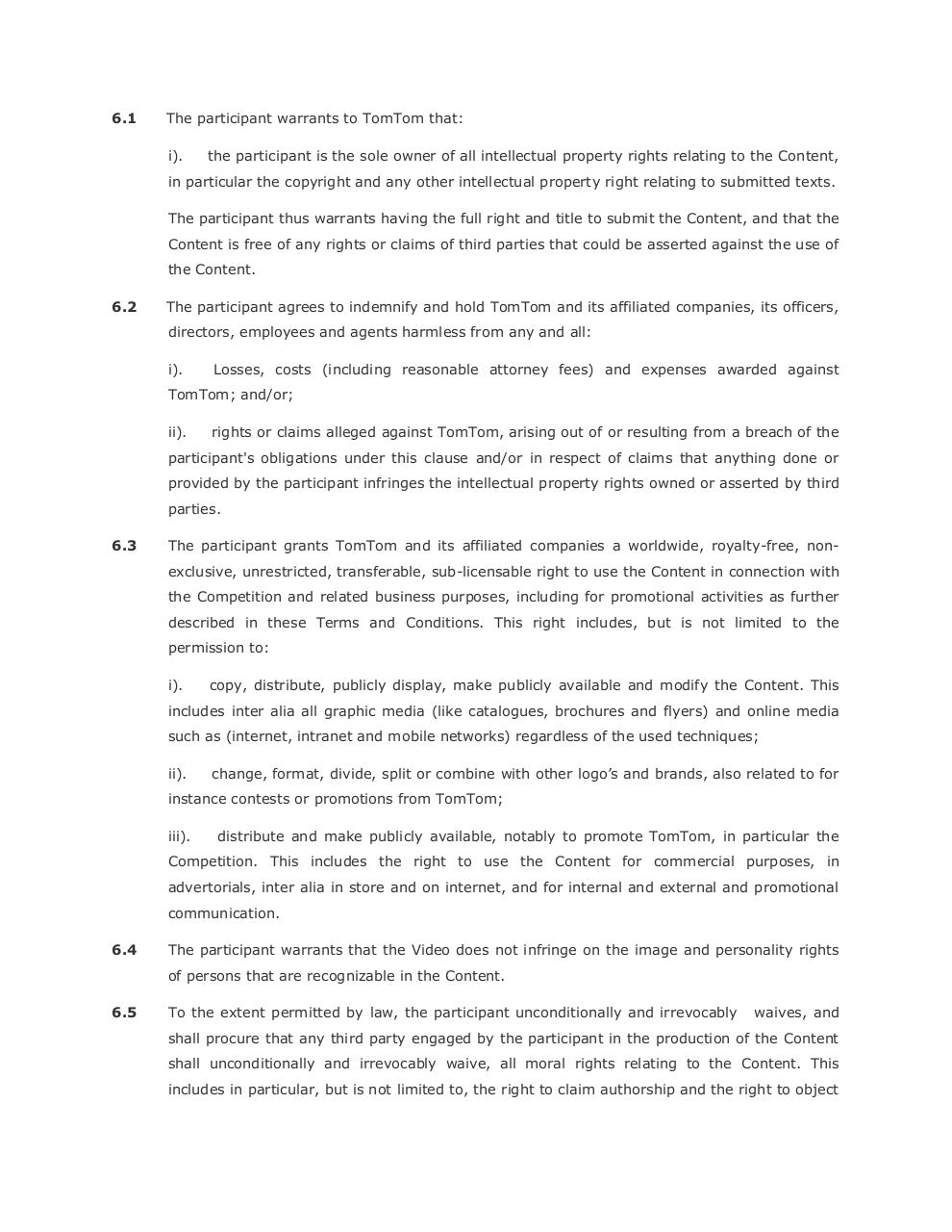 151014 TrafficFree Terms and Conditions v 3 SW FINAL.pdf - page 4/7