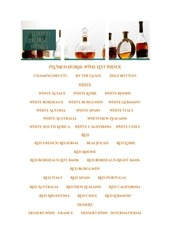 plumed horse wine list9