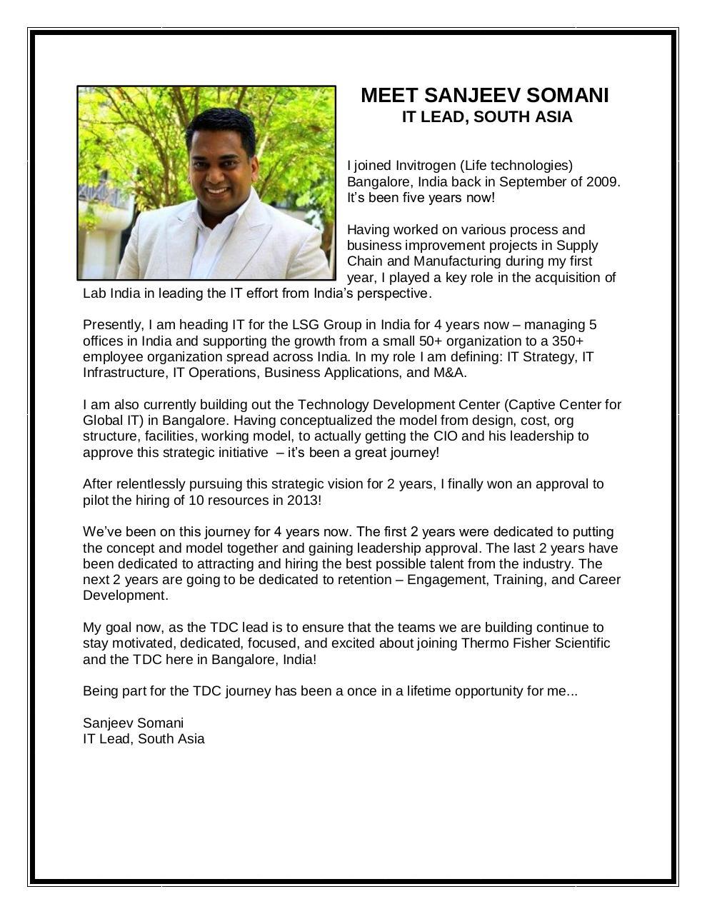 Sanjeev Bio by Baird, Kelsey - PDF Archive