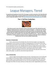 br football league managers tiered