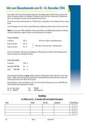 2014 anmeldung ski we