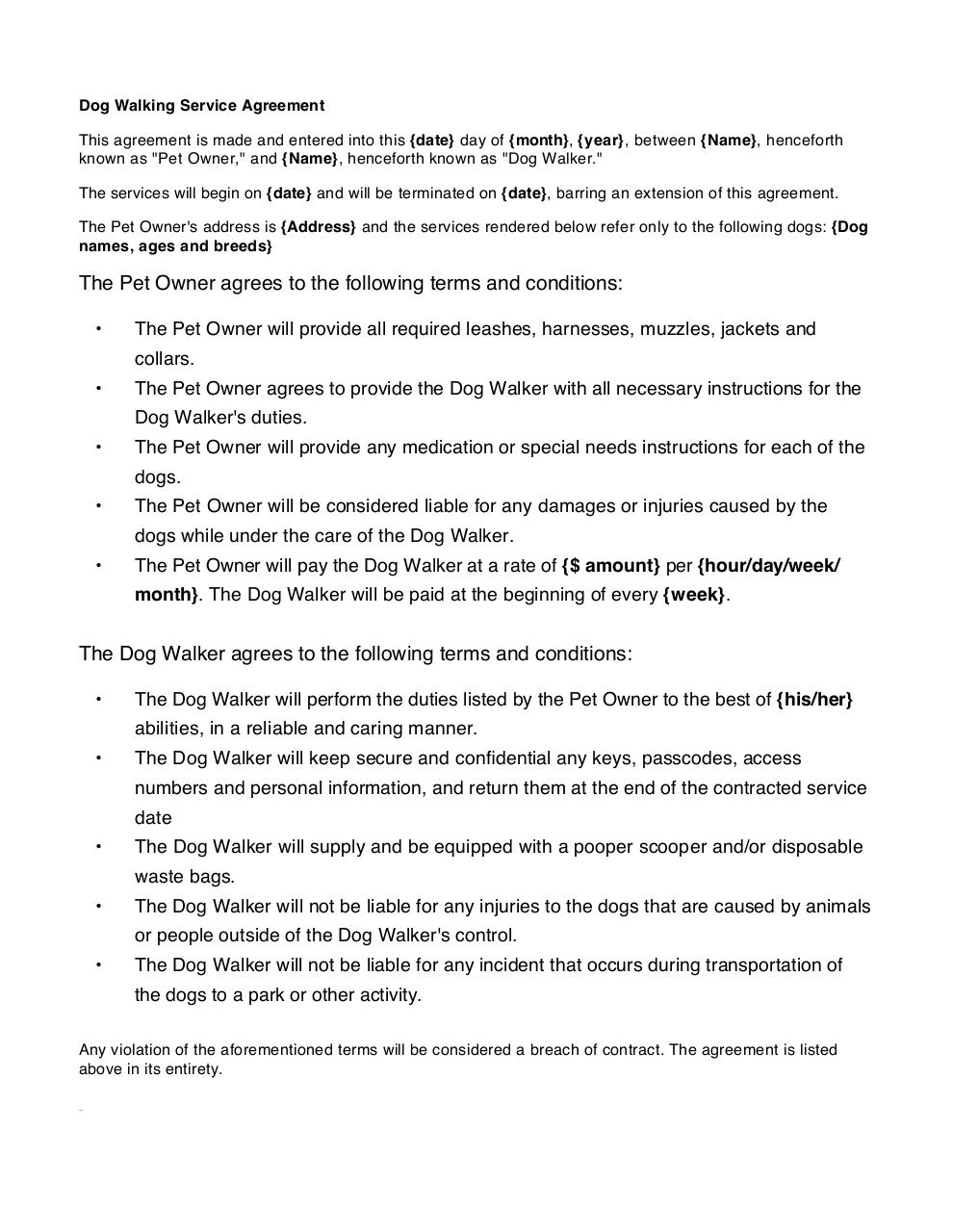 Dating site terms and conditions template