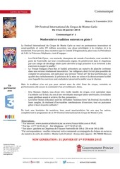 PDF Document communique de presse no 1