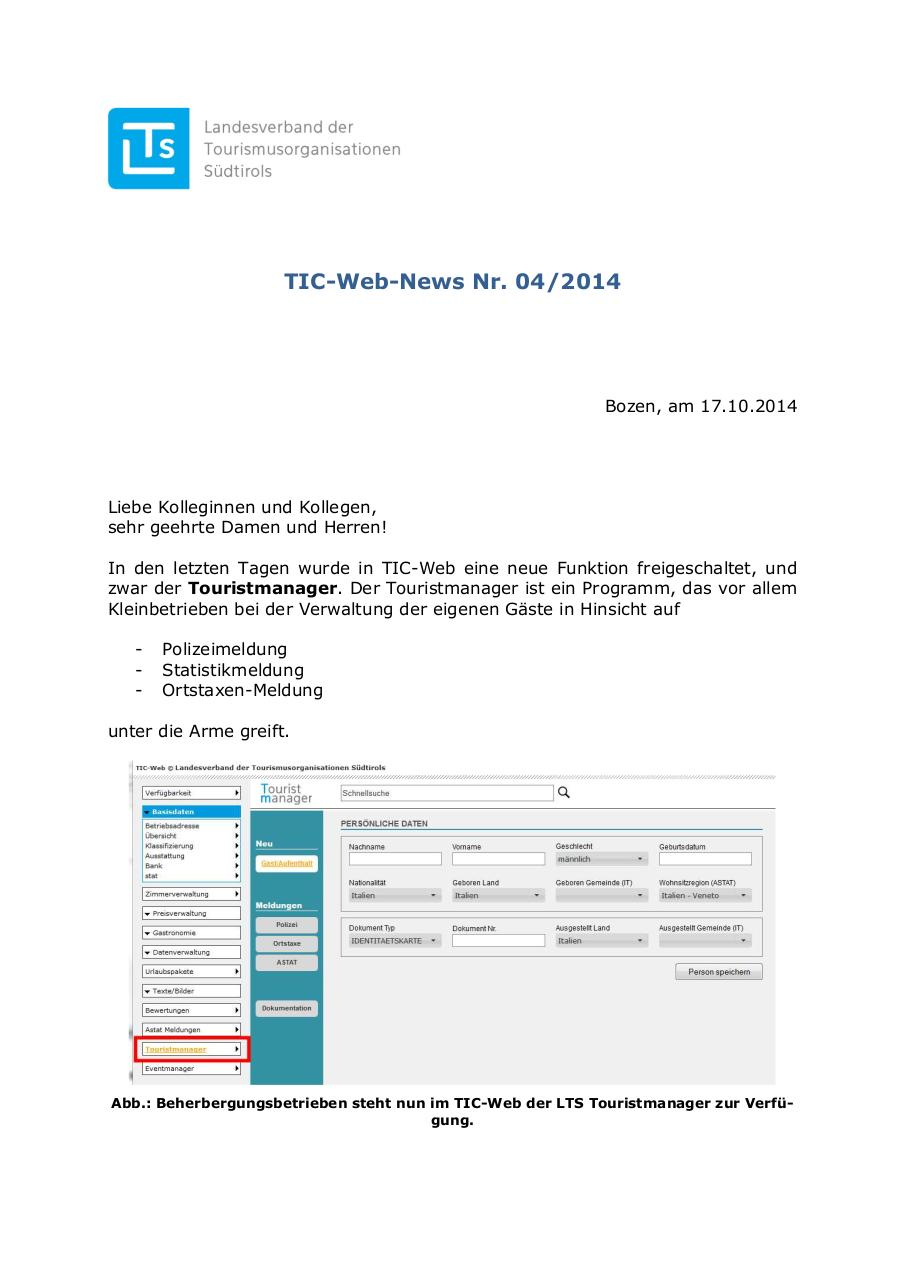 Preview of PDF document handbuch-touristmanager.pdf
