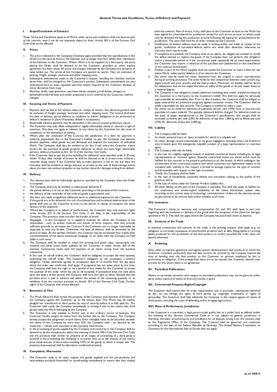 Document preview general standard terms and conditions.PDF - page 1/1