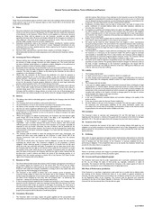 general standard terms and conditions
