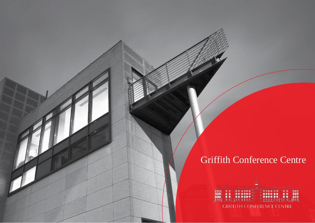 Griffith Conference Centre Brochure 2015.pdf - page 1/7