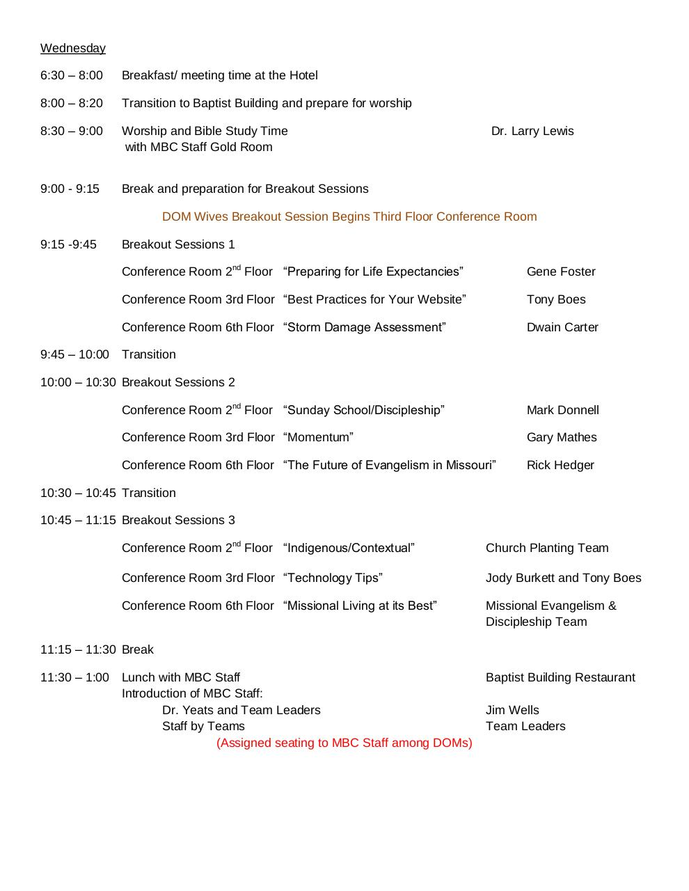 Document preview fall-dom-schedule-2014.pdf - page 3/4