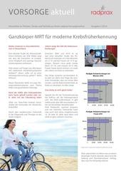 PDF Document newsletter vorsorge 1 14 krebsfr herkennung
