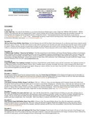 orange county holiday events 2014