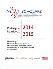 nexxt scholars handbook