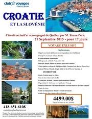 croatie et slovenie septembre 2015