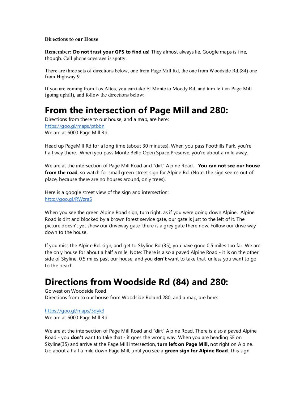Document preview Directions to 6000 PageMill.pdf - page 1/2