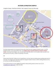 parking info jan 3 event