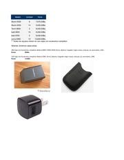 listado precios sublackberry equipos