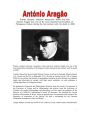 english document antonio aragao