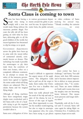 north pole news 2014