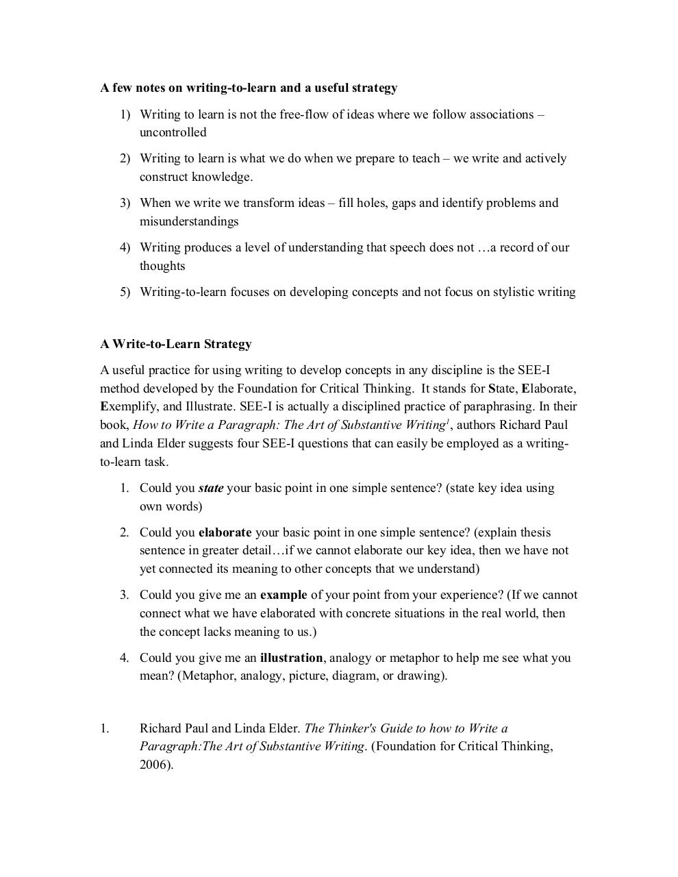 writing to learn.pdf - page 1/2