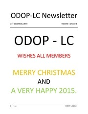 odop lc newsletter vol1 issue 3 dec 14