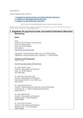 PDF Document bersicht angebote in wetzar