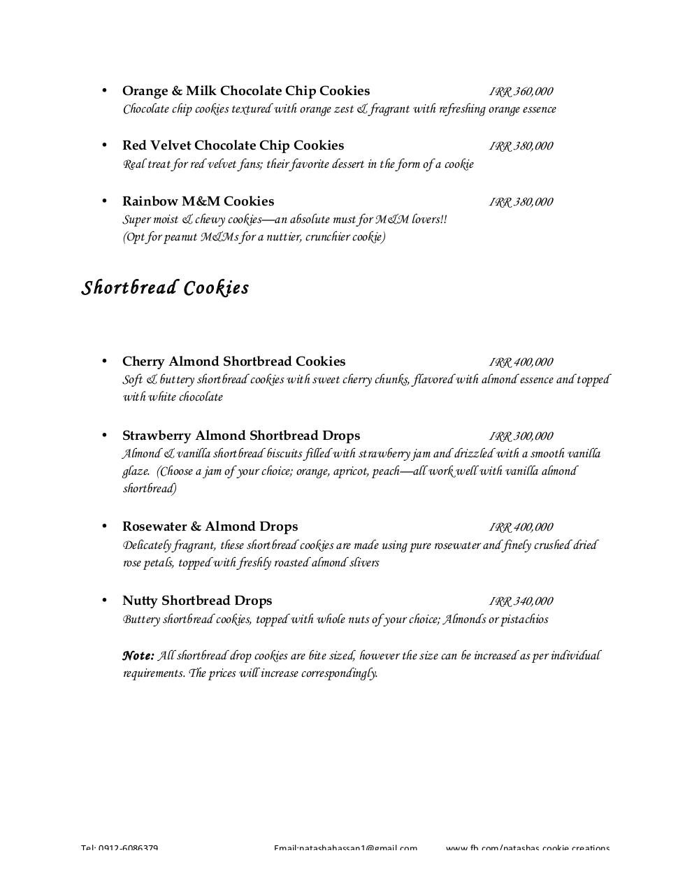 Cookie Creations Menu.pdf - page 2/7