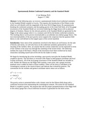 conformal standard model