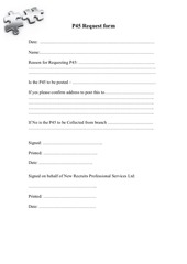 PDF Document p45 request form