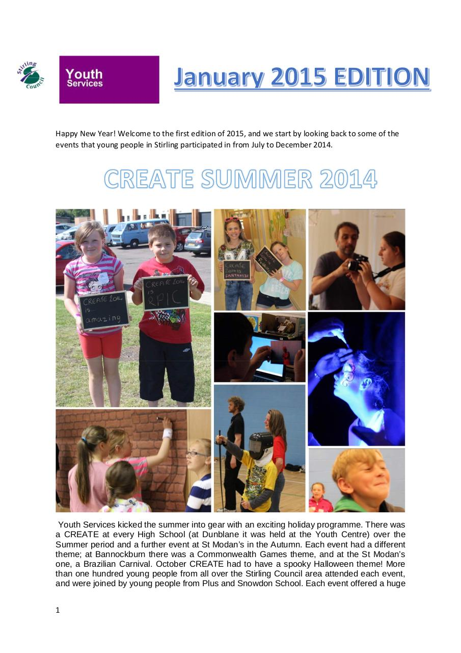 Youth Services Newsletter Jan 2015 Edition.compressed.pdf - page 1/9