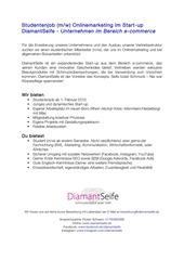 ausschreibung diamantseife ug 2