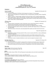 pnmichalakis resume 2015