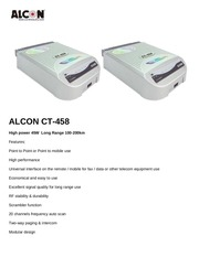 alcon ct 458 spec in pdf www shop wifi com