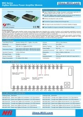 m02 series nhr zigbee wireless power amplifier module
