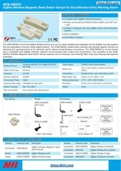 wireless magnetic reed switch sensor door entry alarm