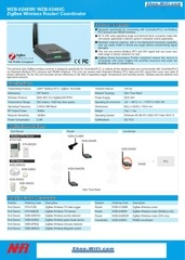 wzb 02485r zigbee wireless router coordinator