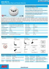 wzb smt750 zigbee wireless heat and smoke detector