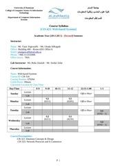 cis 423 syllabus web based systems 2014 2015