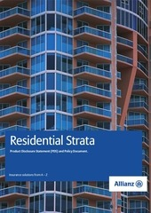 pol107bafi allianz residential strata policy 05 13
