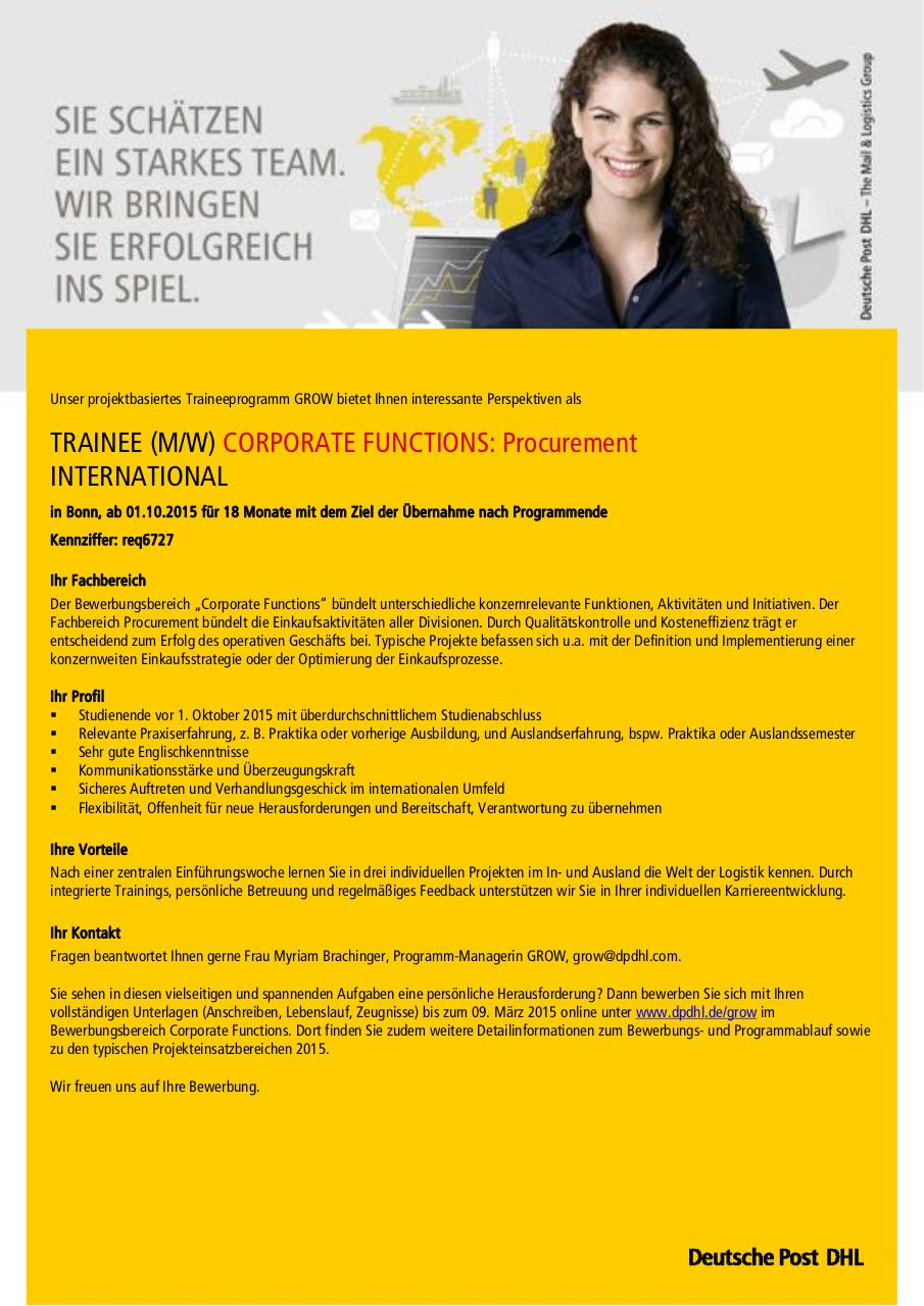 Document preview GROW 2015 CORPORATE FUNCTIONS_PRC_DE.pdf - page 1/1
