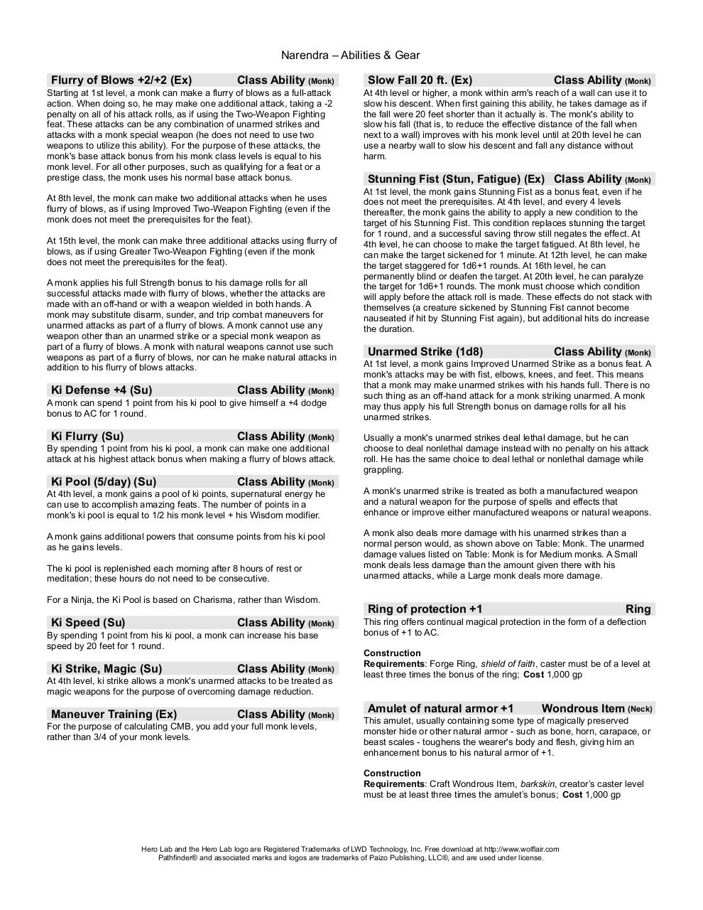 Hero_Lab_-_Monk_-_Abilities.pdf - page 2/3