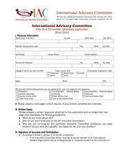 iac exec 2014 2015 application