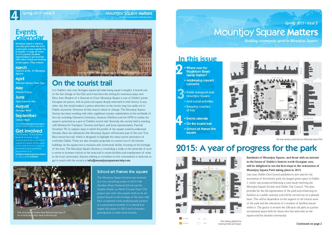 Document preview Spring newsletter 2015.pdf - page 1/2