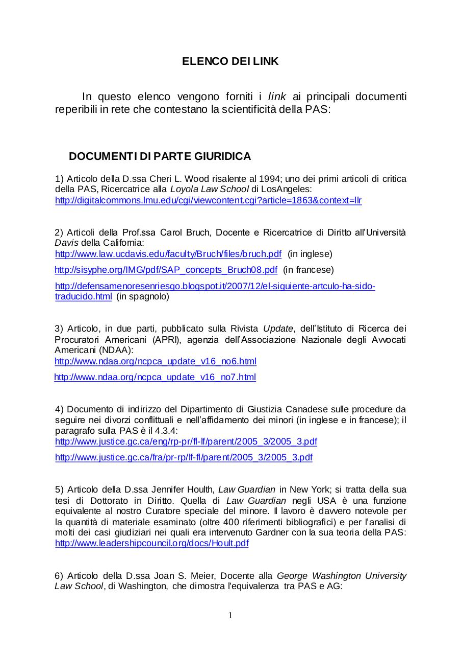 Document preview ELENCO DEI LINK.pdf - page 1/4