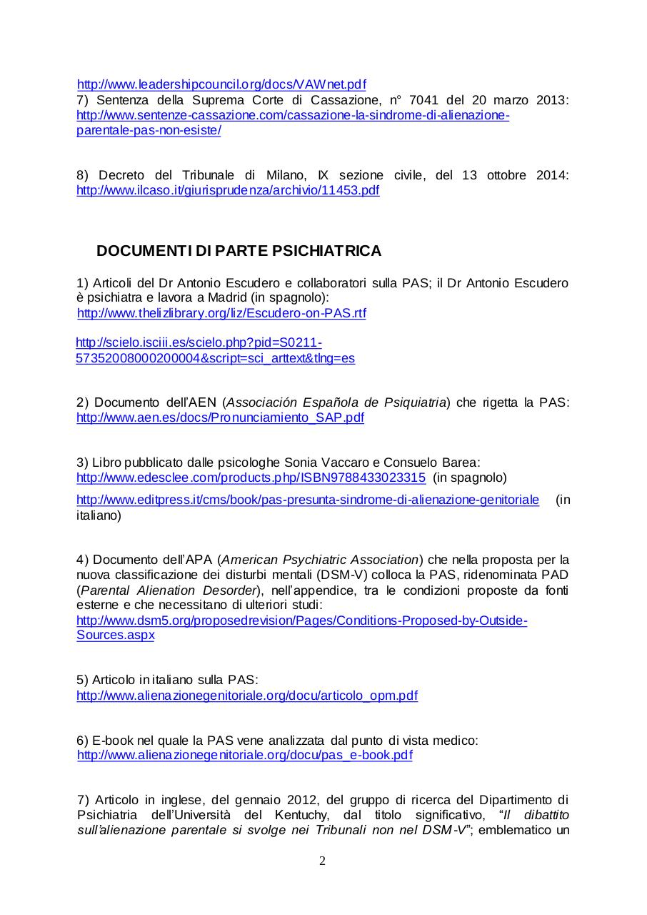 Document preview ELENCO DEI LINK.pdf - page 2/4
