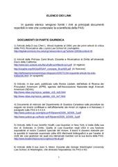 PDF Document elenco dei link