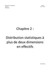 chapitre 2 distribution statistiques plus deux dim