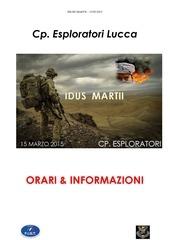orari ed informazioni idus martii